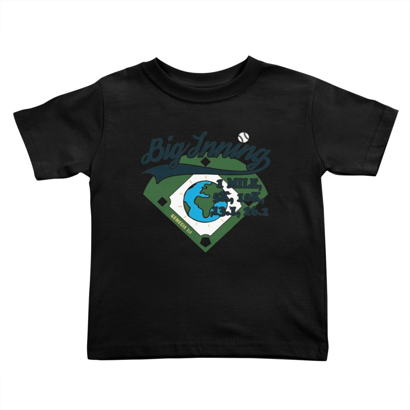 In the Big Inning Kids Toddler T-Shirt by Moon Joggers's Artist Shop
