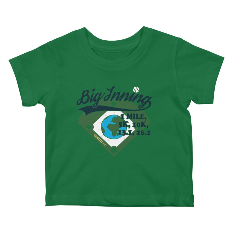 In the Big Inning Kids Baby T-Shirt by Moon Joggers's Artist Shop