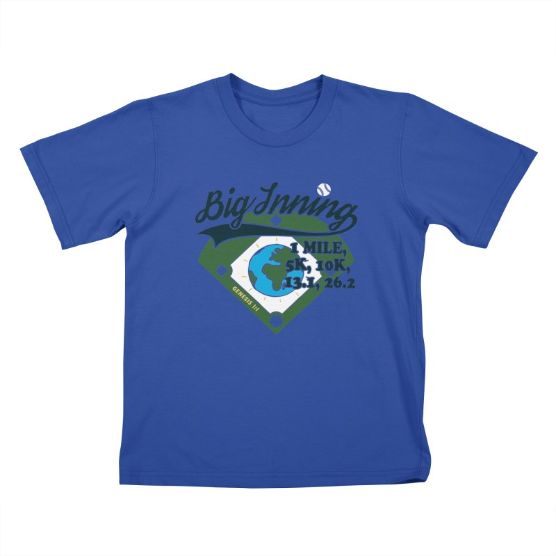 In the Big Inning Kids T-Shirt by Moon Joggers's Artist Shop