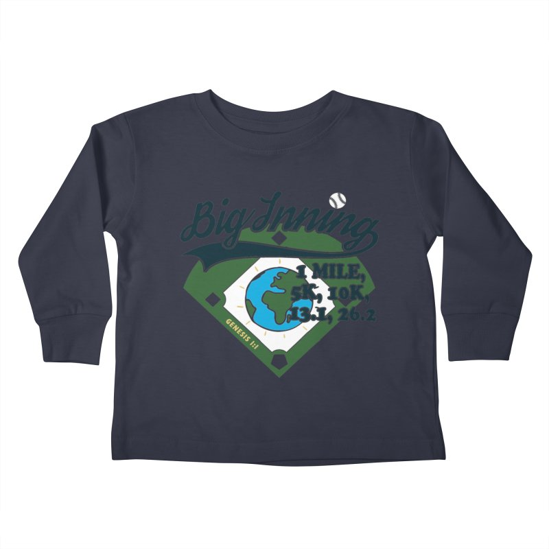 In the Big Inning Kids Toddler Longsleeve T-Shirt by Moon Joggers's Artist Shop