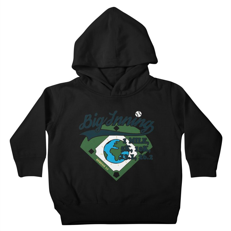 In the Big Inning Kids Toddler Pullover Hoody by Moon Joggers's Artist Shop