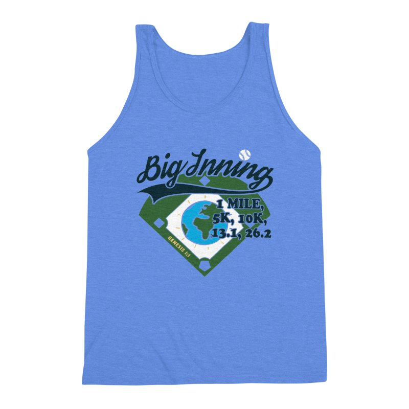 In the Big Inning Men's Triblend Tank by Moon Joggers's Artist Shop