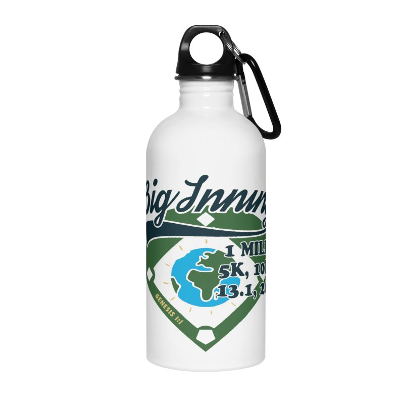 In the Big Inning Accessories Water Bottle by Moon Joggers's Artist Shop