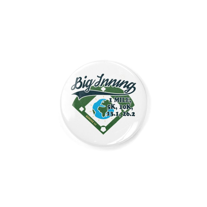 In the Big Inning Accessories Button by Moon Joggers's Artist Shop