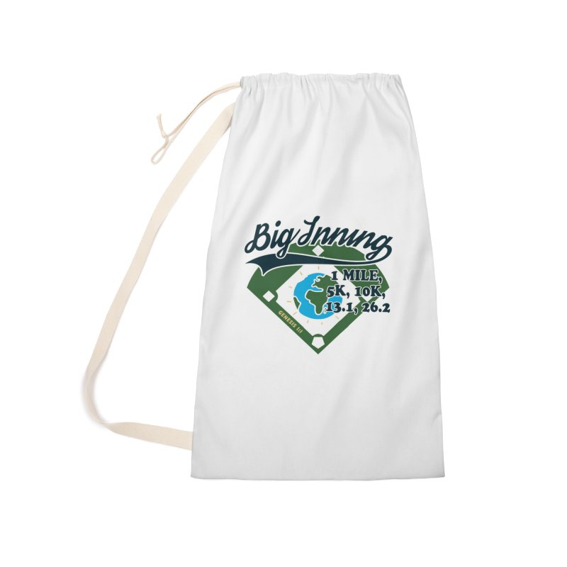 In the Big Inning Accessories Laundry Bag Bag by Moon Joggers's Artist Shop