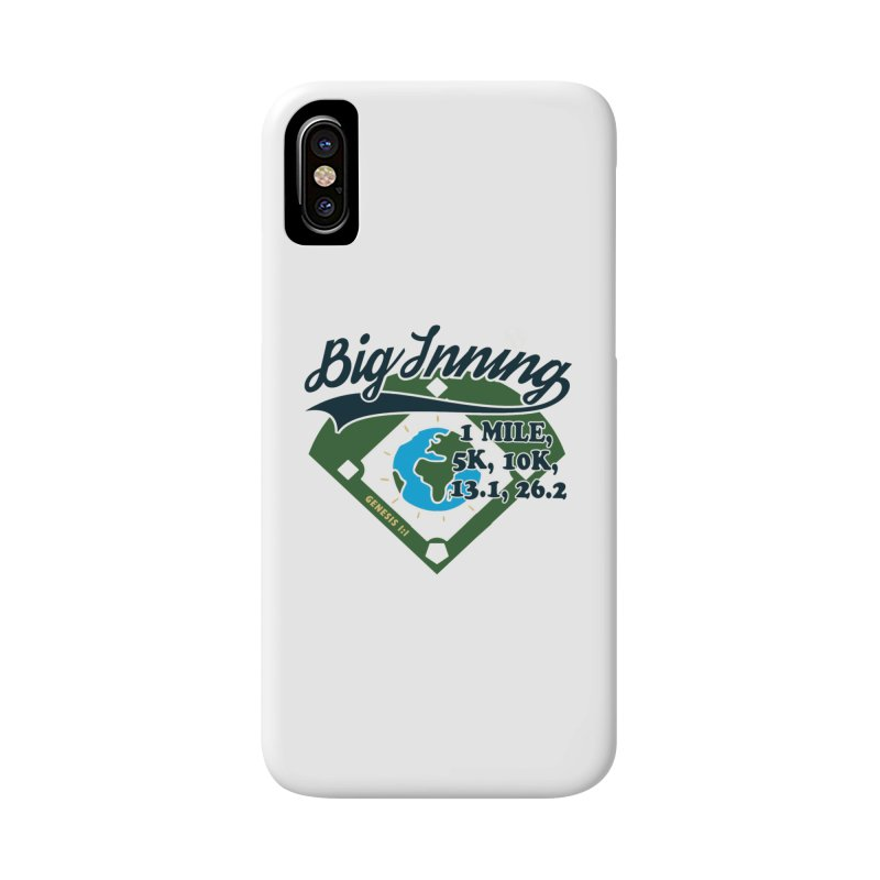 In the Big Inning Accessories Phone Case by Moon Joggers's Artist Shop