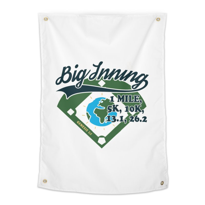 In the Big Inning Home Tapestry by Moon Joggers's Artist Shop