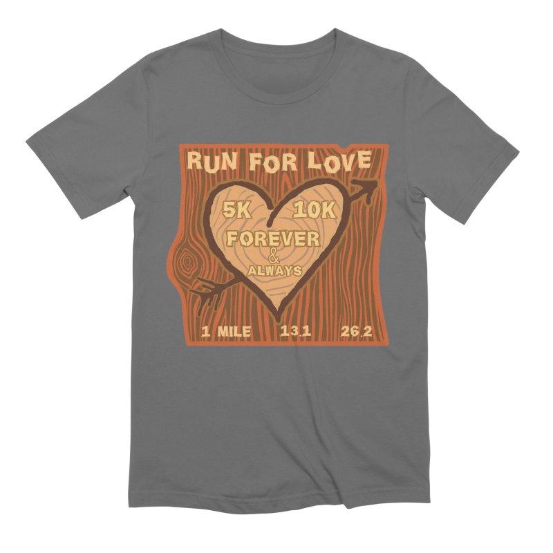 Run 4 Love Men's Extra Soft T-Shirt by Moon Joggers's Artist Shop