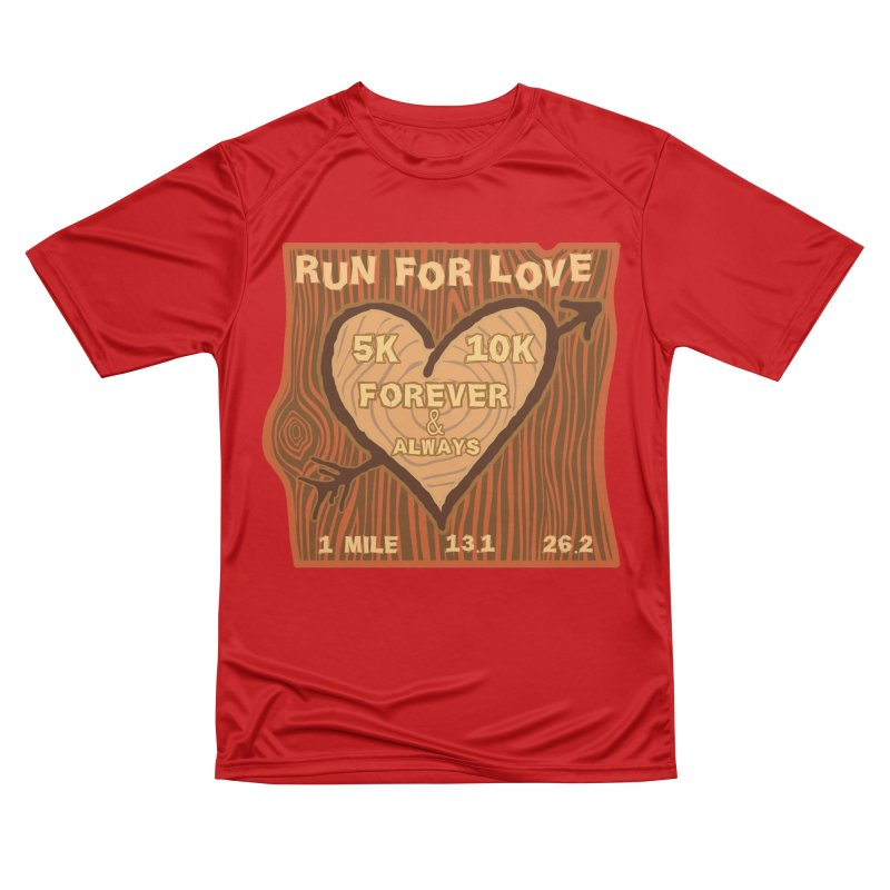 Run 4 Love Women's Performance Unisex T-Shirt by Moon Joggers's Artist Shop