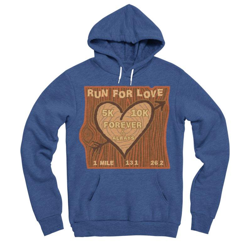 Run 4 Love Women's Sponge Fleece Pullover Hoody by Moon Joggers's Artist Shop