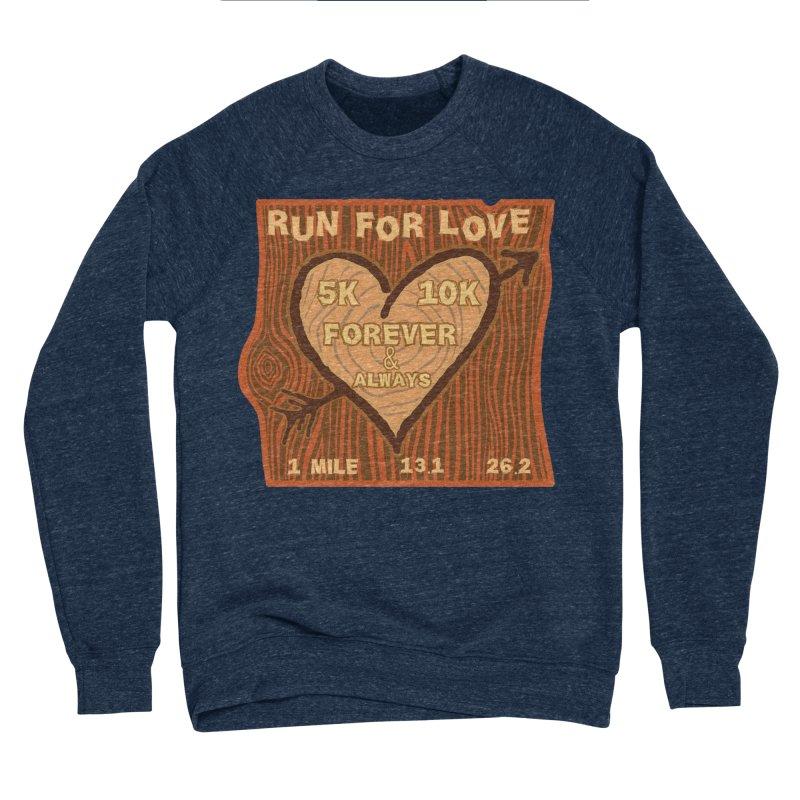 Run 4 Love Men's Sponge Fleece Sweatshirt by Moon Joggers's Artist Shop