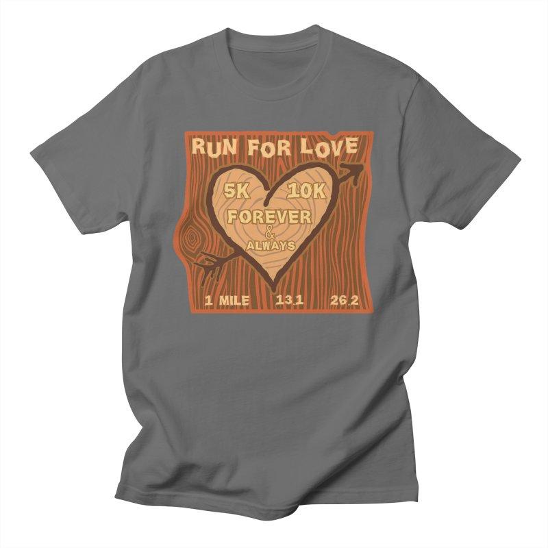 Run 4 Love Men's T-Shirt by Moon Joggers's Artist Shop