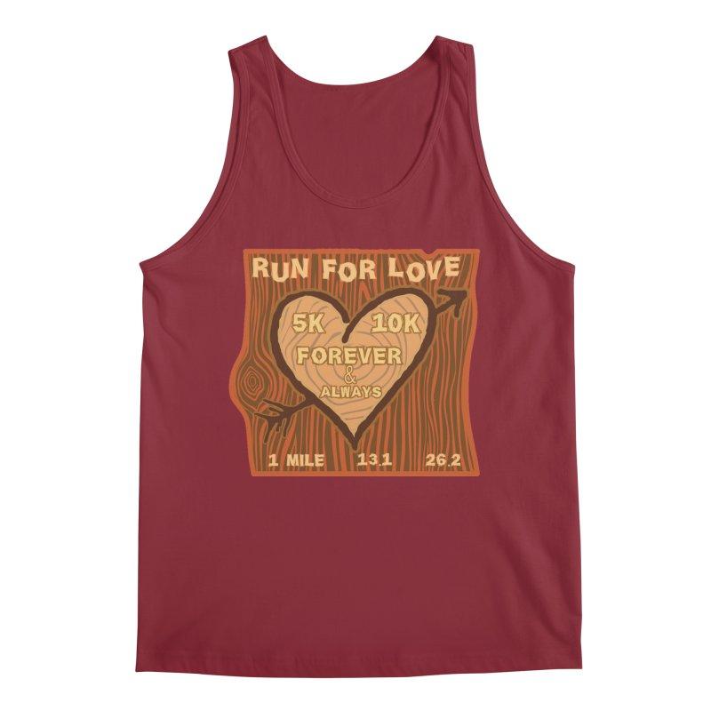 Run 4 Love Men's Regular Tank by Moon Joggers's Artist Shop