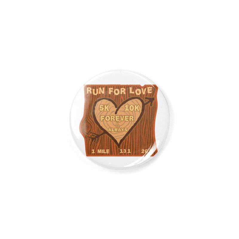 Run 4 Love Accessories Button by Moon Joggers's Artist Shop