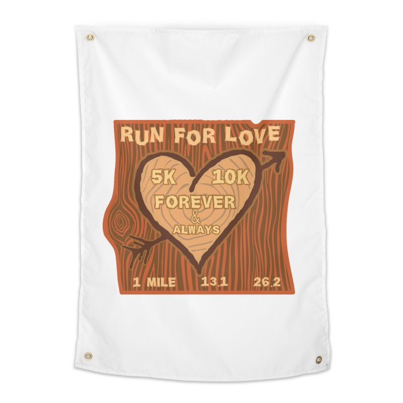 Run 4 Love Home Tapestry by Moon Joggers's Artist Shop