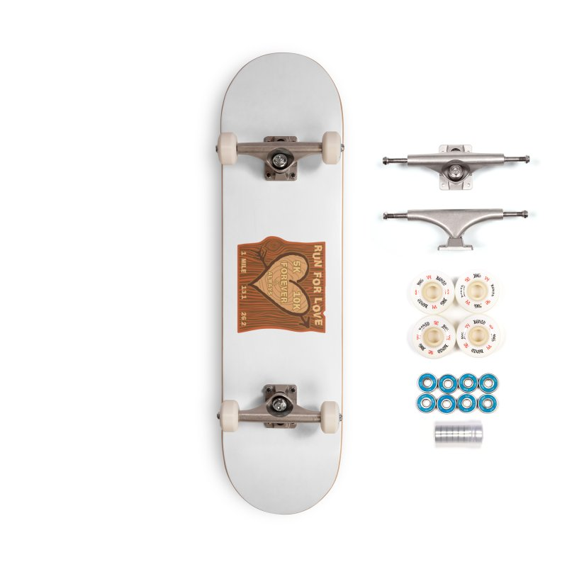 Run 4 Love Accessories Complete - Premium Skateboard by Moon Joggers's Artist Shop