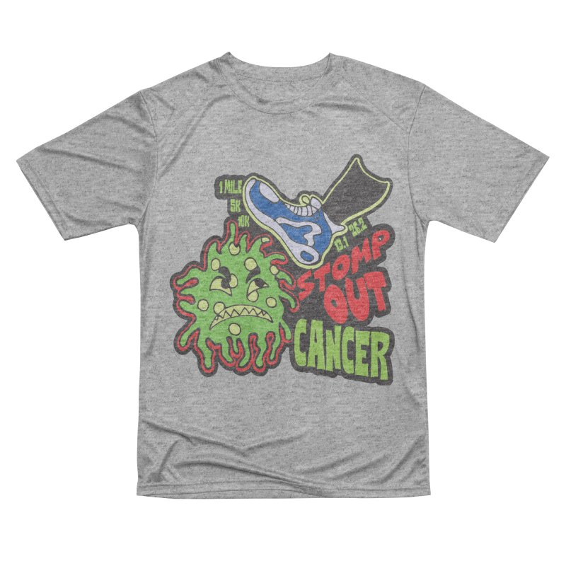 World Cancer Day Stomp Out Cancer! Women's Performance Unisex T-Shirt by Moon Joggers's Artist Shop