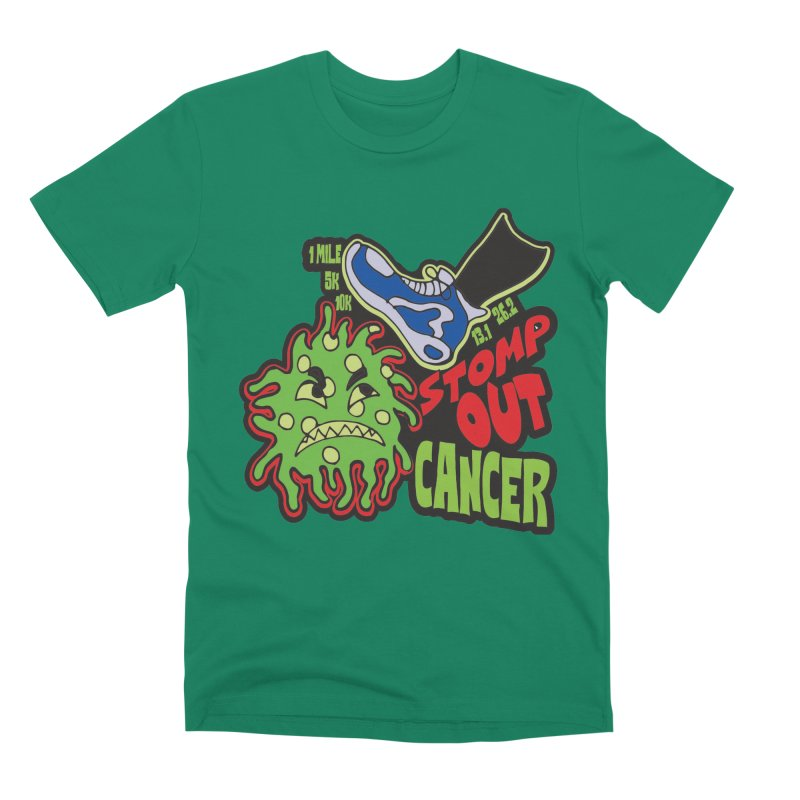 World Cancer Day Stomp Out Cancer! Men's Premium T-Shirt by Moon Joggers's Artist Shop
