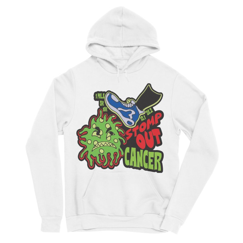 World Cancer Day Stomp Out Cancer! Women's Sponge Fleece Pullover Hoody by Moon Joggers's Artist Shop