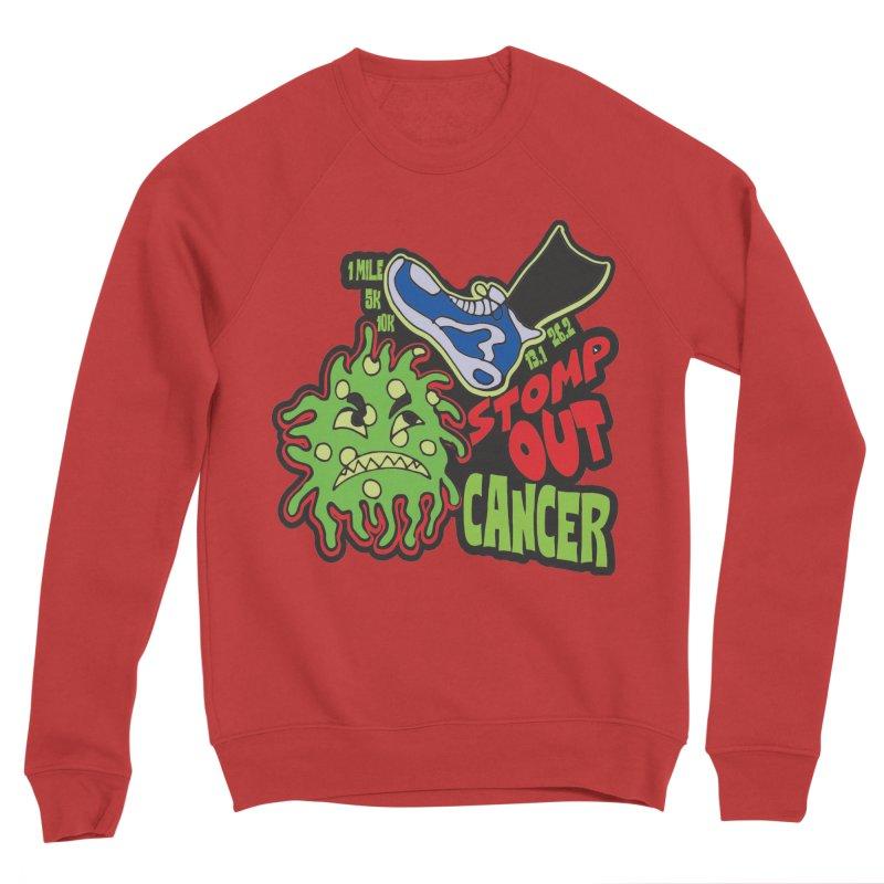 World Cancer Day Stomp Out Cancer! Women's Sponge Fleece Sweatshirt by Moon Joggers's Artist Shop