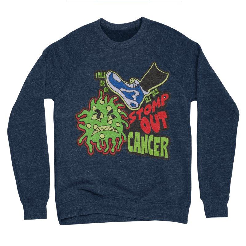 World Cancer Day Stomp Out Cancer! Men's Sponge Fleece Sweatshirt by Moon Joggers's Artist Shop