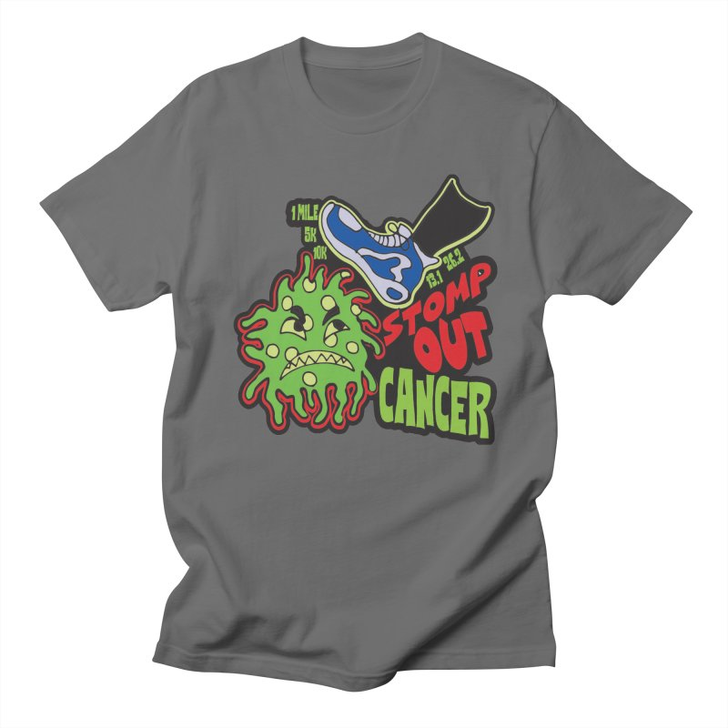 World Cancer Day Stomp Out Cancer! Men's T-Shirt by Moon Joggers's Artist Shop