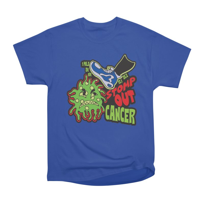 World Cancer Day Stomp Out Cancer! Men's Heavyweight T-Shirt by Moon Joggers's Artist Shop