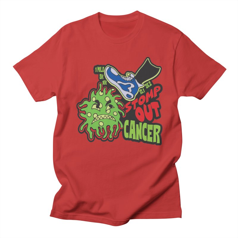World Cancer Day Stomp Out Cancer! Women's Regular Unisex T-Shirt by Moon Joggers's Artist Shop