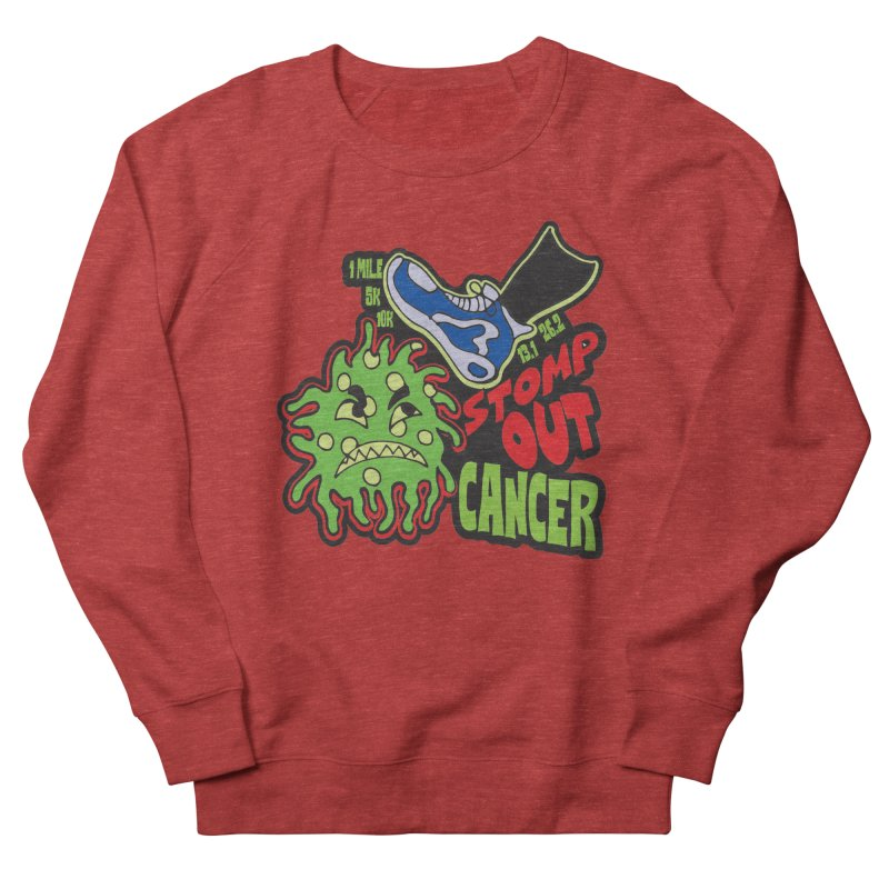 World Cancer Day Stomp Out Cancer! Men's French Terry Sweatshirt by Moon Joggers's Artist Shop