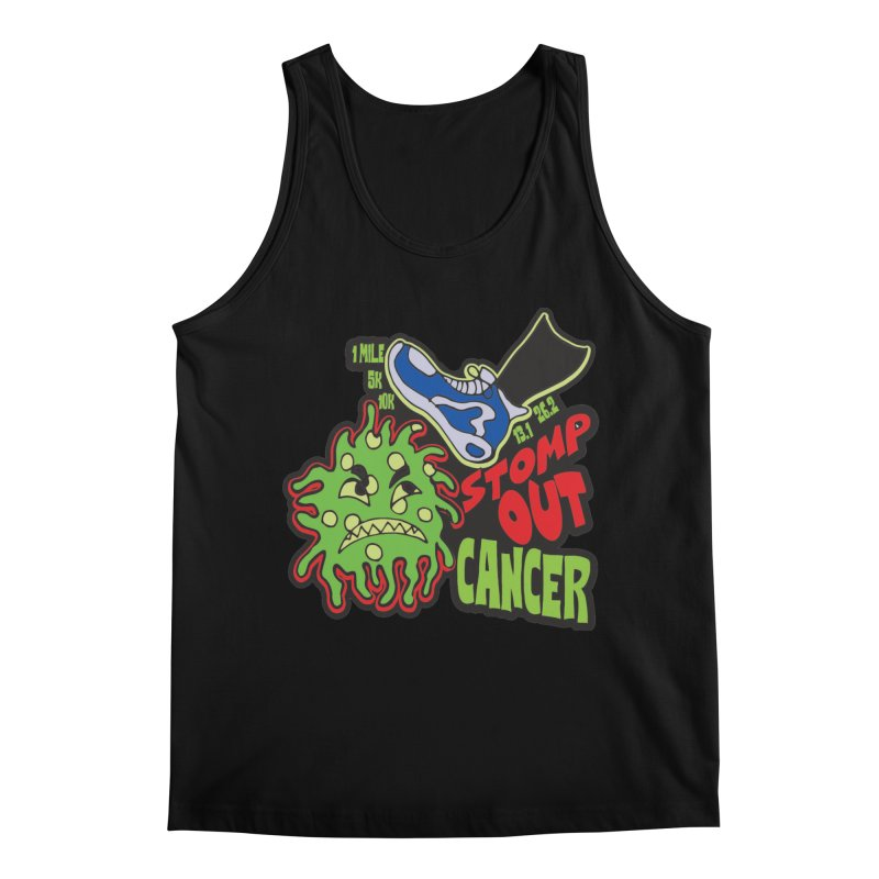 World Cancer Day Stomp Out Cancer! Men's Regular Tank by Moon Joggers's Artist Shop
