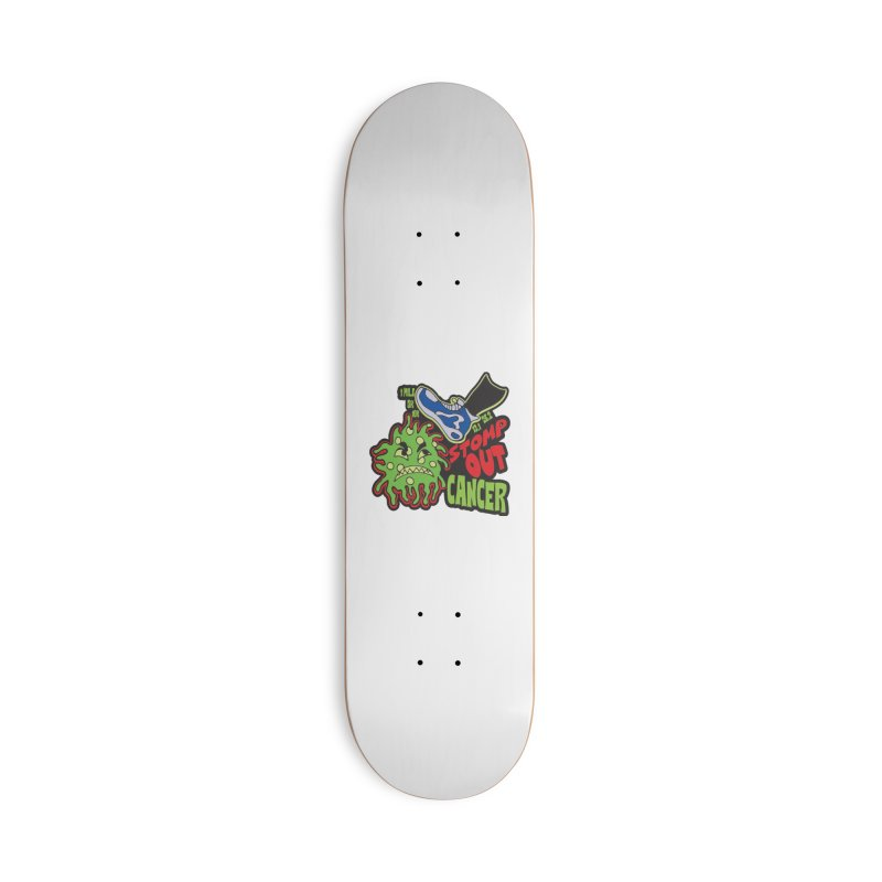 World Cancer Day Stomp Out Cancer! Accessories Deck Only Skateboard by Moon Joggers's Artist Shop