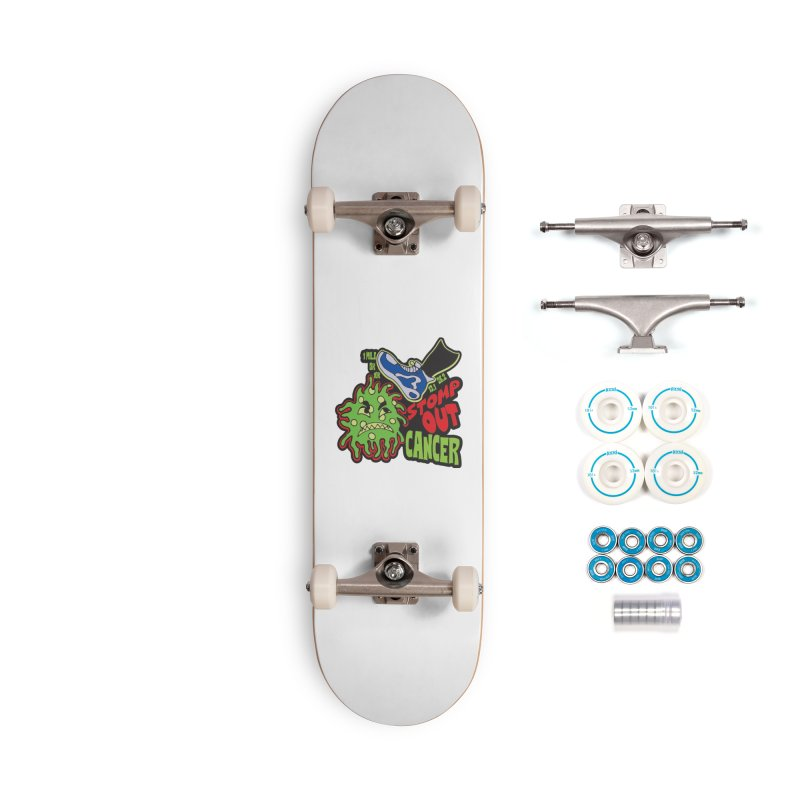 World Cancer Day Stomp Out Cancer! Accessories Complete - Basic Skateboard by Moon Joggers's Artist Shop