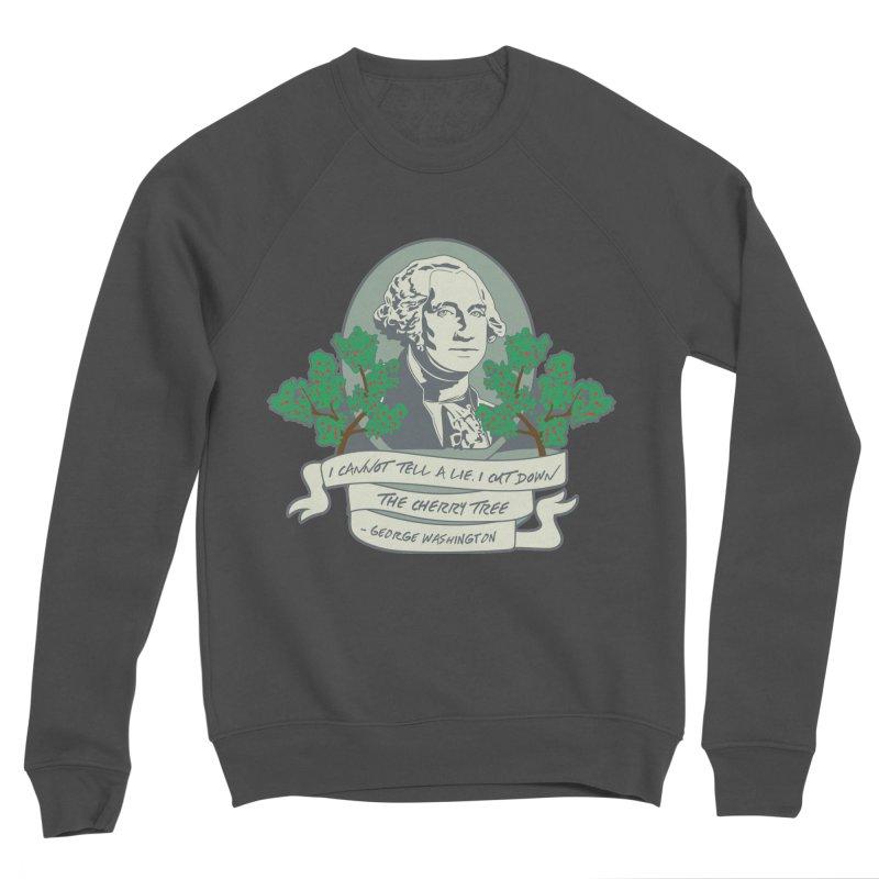 President's Day: Washington Men's Sponge Fleece Sweatshirt by Moon Joggers's Artist Shop