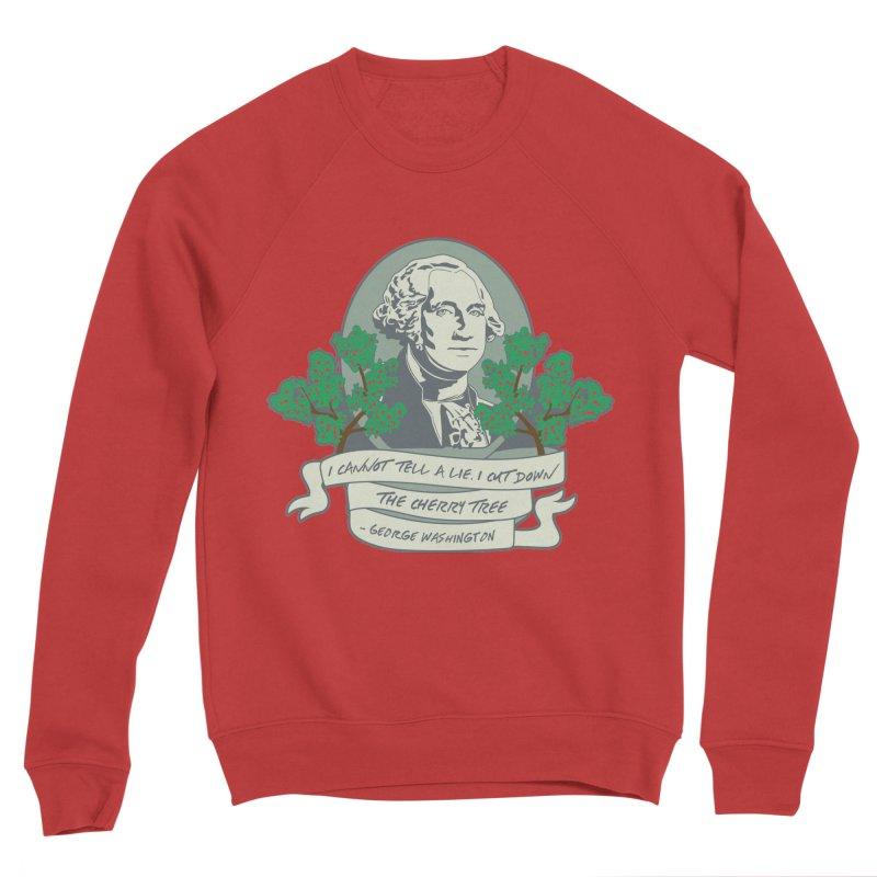 President's Day: Washington Women's Sponge Fleece Sweatshirt by Moon Joggers's Artist Shop