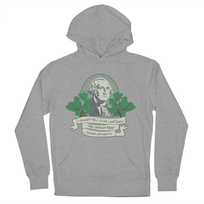 President's Day: Washington Men's French Terry Pullover Hoody by Moon Joggers's Artist Shop