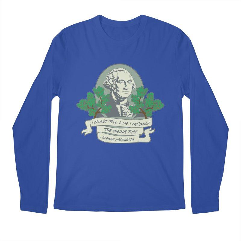 President's Day: Washington Men's Regular Longsleeve T-Shirt by Moon Joggers's Artist Shop