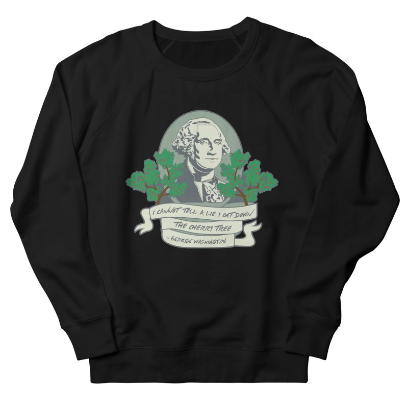 President's Day: Washington Men's French Terry Sweatshirt by Moon Joggers's Artist Shop