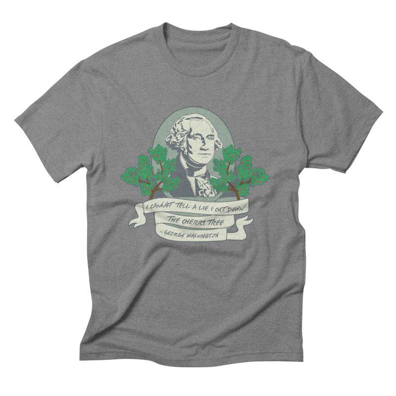 President's Day: Washington Men's T-Shirt by Moon Joggers's Artist Shop