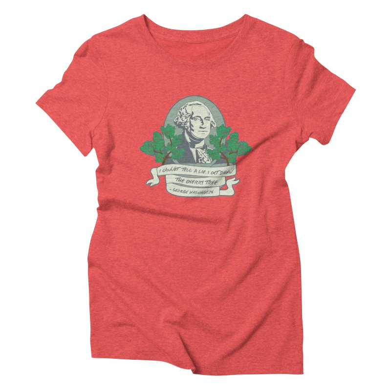 President's Day: Washington Women's Triblend T-Shirt by Moon Joggers's Artist Shop