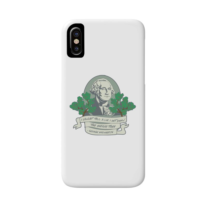 President's Day: Washington Accessories Phone Case by Moon Joggers's Artist Shop
