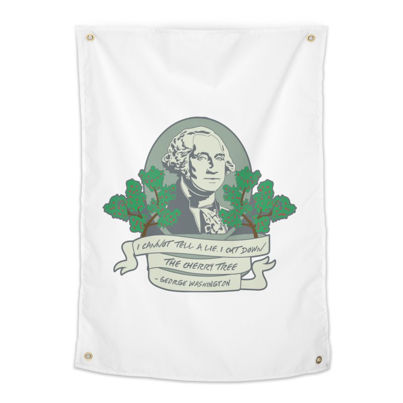 President's Day: Washington Home Tapestry by Moon Joggers's Artist Shop