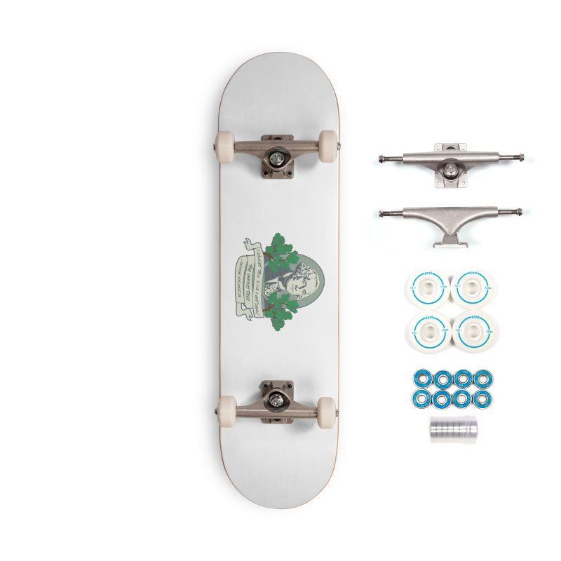President's Day: Washington Accessories Complete - Basic Skateboard by Moon Joggers's Artist Shop