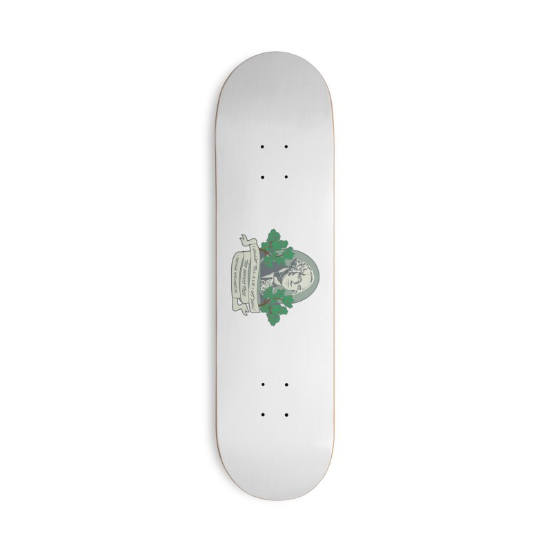 President's Day: Washington Accessories Deck Only Skateboard by Moon Joggers's Artist Shop