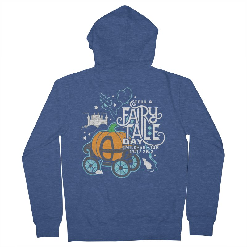Fairy Tale Men's French Terry Zip-Up Hoody by Moon Joggers's Artist Shop