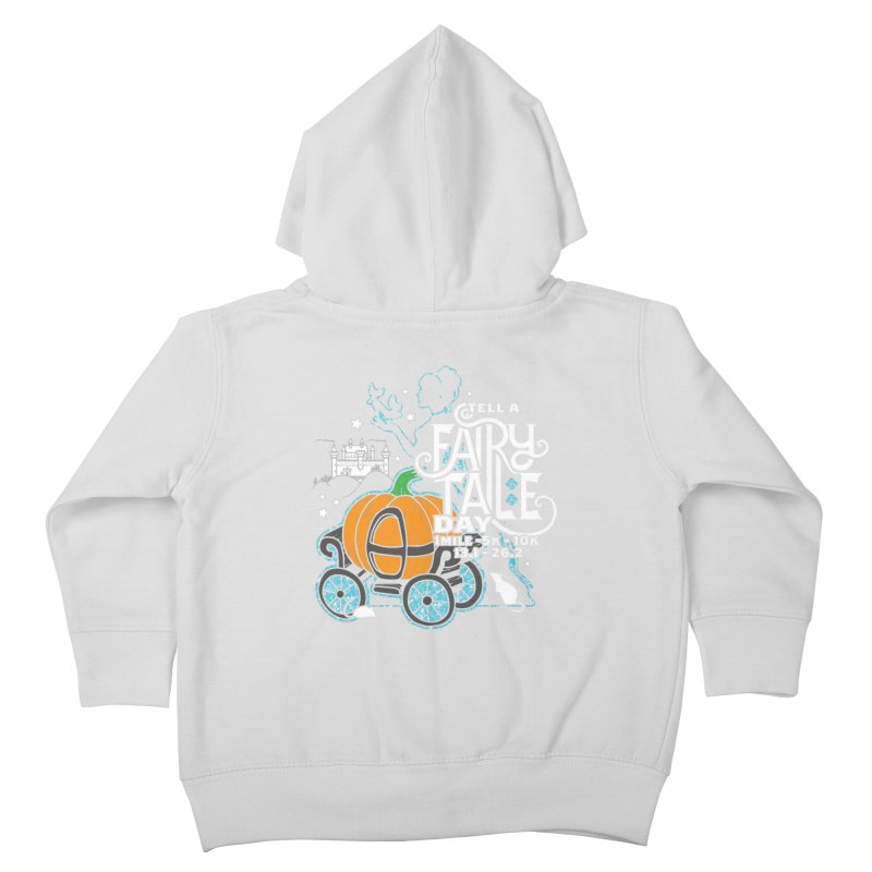 Fairy Tale Kids Toddler Zip-Up Hoody by Moon Joggers's Artist Shop