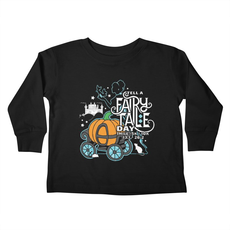 Fairy Tale Kids Toddler Longsleeve T-Shirt by Moon Joggers's Artist Shop