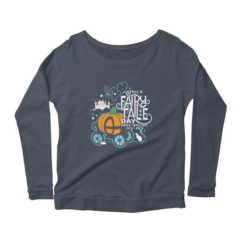 Fairy Tale Women's Scoop Neck Longsleeve T-Shirt by Moon Joggers's Artist Shop