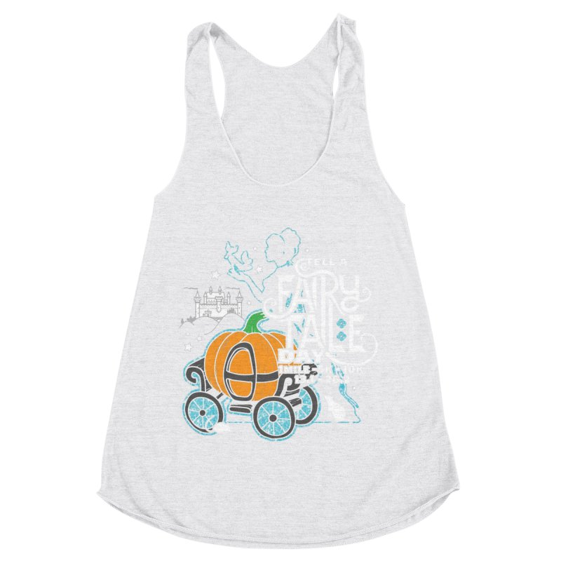 Fairy Tale Women's Racerback Triblend Tank by Moon Joggers's Artist Shop