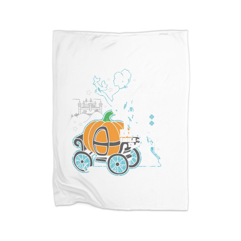 Fairy Tale Home Fleece Blanket Blanket by Moon Joggers's Artist Shop