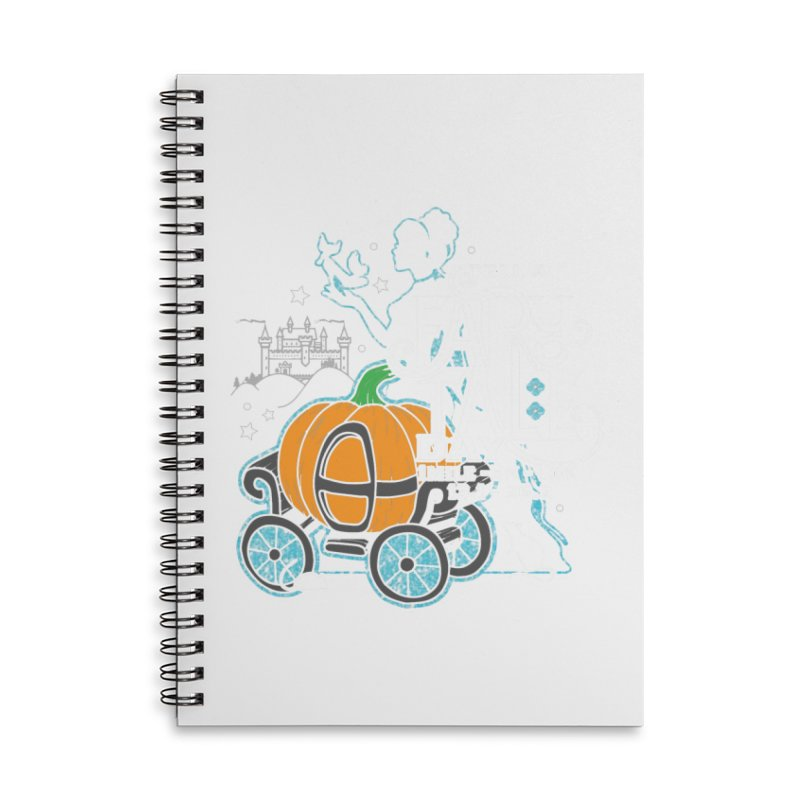 Fairy Tale Accessories Lined Spiral Notebook by Moon Joggers's Artist Shop